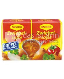 Produktabbildung: Maggi Zwiebelsoße Doppelpackung 56 g