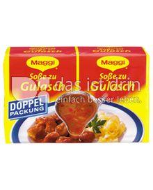 Produktabbildung: Maggi Soße zu Gulasch Doppelpackung 56 g