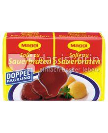 Produktabbildung: Maggi Soße zu Sauerbraten Doppelpackung 56 g