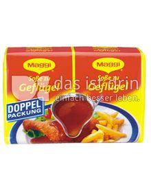 Produktabbildung: Maggi Soße zu Geflügel Doppelpackung 50 g