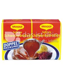 Produktabbildung: Maggi Soße zu Schweinebraten Doppelpackung 46 g