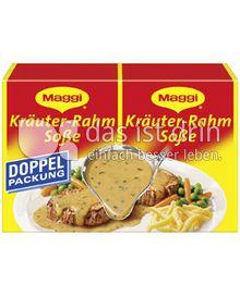 Produktabbildung: Maggi Kräuter-Rahmsoße Doppelpackung 74 g