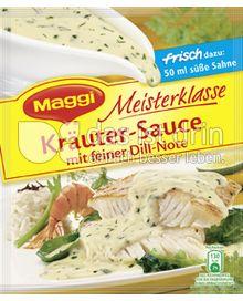 Produktabbildung: Maggi Meisterklasse Kräuter-Sauce mit feiner Dill-Note 33 g