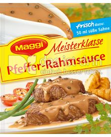 Produktabbildung: Maggi Meisterklasse Pfeffer-Rahmsauce 28 g