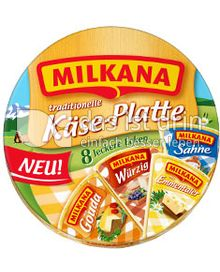 Produktabbildung: Milkana Käse-Platte 200 g