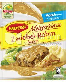 Produktabbildung: Maggi Meisterklasse Zwiebel-Rahm Sauce 46 g
