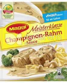 Produktabbildung: Maggi Meisterklasse Champignon-Rahm Sauce 41,5 g