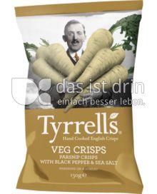 Produktabbildung: Tyrrells Hand Cooked English Crisps: Veg Crisp 150 g