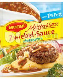 Produktabbildung: Maggi Meisterklasse Zwiebel-Sauce »fettarm« 38 g