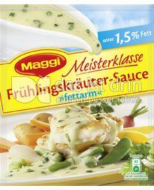 Produktabbildung: Maggi Meisterklasse Frühlingskräuter-Sauce »fettarm« 27 g
