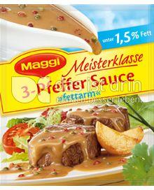 Produktabbildung: Maggi Meisterklasse 3-Pfeffer Sauce »fettarm« 33 g