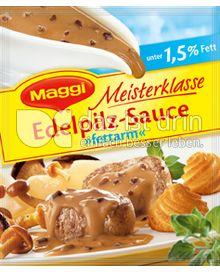 Produktabbildung: Maggi Meisterklasse Edelpilz-Sauce »fettarm« 35 g