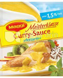 Produktabbildung: Maggi Meisterklasse Curry-Sauce »fettarm« 34 g