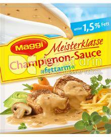 Produktabbildung: Maggi Meisterklasse Champignon-Sauce »fettarm« 32 g