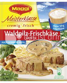 Produktabbildung: Maggi Meisterklasse cremig & frisch Waldpilz-Frischkäse Sauce 30 g