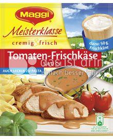 Produktabbildung: Maggi Meisterklasse cremig & frisch Tomaten-Frischkäse Sauce 40 g
