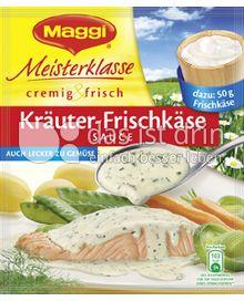 Produktabbildung: Maggi Meisterklasse cremig & frisch Kräuter-Frischkäse Sauce 34 g