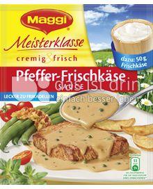 Produktabbildung: Maggi Meisterklasse cremig & frisch Pfeffer-Frischkäse Sauce 30 g
