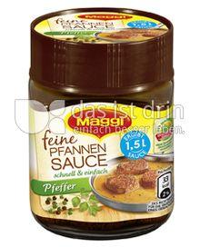 Produktabbildung: Maggi Feine Pfannen Sauce Pfeffer 126 g