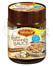 Produktabbildung: Maggi Feine Pfannen Sauce Champignon 126 g