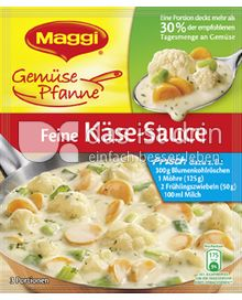 Produktabbildung: Maggi Gemüse Pfanne Feine Käse-Sauce 50 g