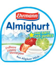Produktabbildung: Ehrmann Sorte des Jahres: Erdbeer-Limette-Mascarpone 150 g