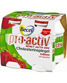 Produktabbildung: Becel Pro Activ Joghurtdrink Erdbeere 400 ml