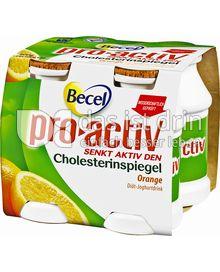 Produktabbildung: Becel Pro Activ Joghurtdrink Orange 400 ml