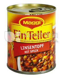 Produktabbildung: Maggi Ein Teller Linsentopf mit Speck 330 g
