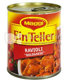 "Produktabbildung: Maggi Ein Teller Ravioli ""Bolognese"" 340 g"