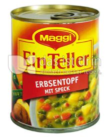 Produktabbildung: Maggi Ein Teller Erbsentopf mit Speck 340 g