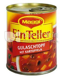 Produktabbildung: Maggi Ein Teller Gulaschtopf mit Kartoffeln 315 g