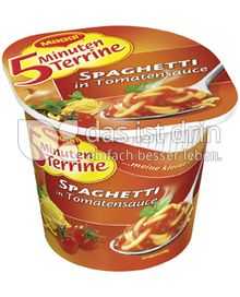 Produktabbildung: Maggi 5 Minuten Terrine Spaghetti in Tomatensauce 62 g
