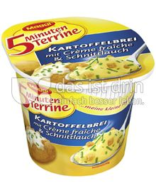 Produktabbildung: Maggi 5 Minuten Terrine Kartoffelbrei mit Crème fraîche & Schnittlauch 52 g
