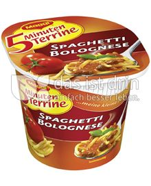 Produktabbildung: Maggi 5 Minuten Terrine Spaghetti Bolognese 62 g