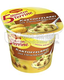 Produktabbildung: Maggi 5 Minuten Terrine Kartoffelbrei mit Fleischklößchen 49 g