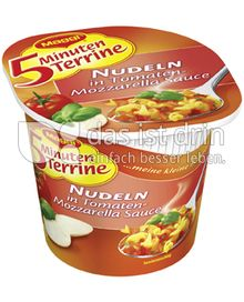 Produktabbildung: Maggi 5 Minuten Terrine Nudeln in Tomaten-Mozzarella-Sauce 57 g