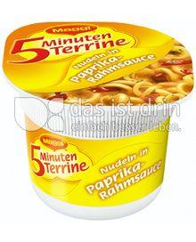 Produktabbildung: Maggi 5 Minuten Terrine Nudeln in Paprika-Rahmsauce 59 g