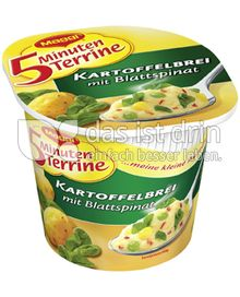 Produktabbildung: Maggi 5 Minuten Terrine Kartoffelbrei mit Blattspinat 51 g