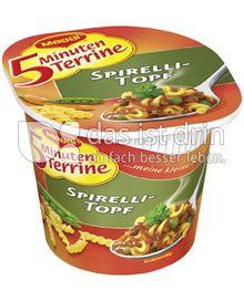 Produktabbildung: Maggi 5 Minuten Terrine Spirelli-Topf 61 g