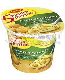 Produktabbildung: Maggi 5 Minuten Terrine Kartoffelbrei mit Rosmarin & Kräutercroutons 59 g