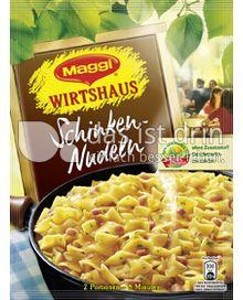 Produktabbildung: Maggi Wirtshaus Schinken-Nudeln 173 g