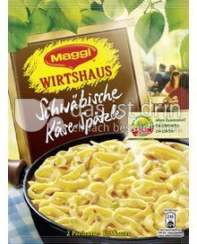 Produktabbildung: Maggi Wirtshaus Schwäbische Käse-Spätzle 125 g