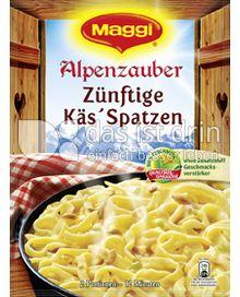Produktabbildung: Maggi Alpenzauber Zünftige Käs'Spatzen 125 g