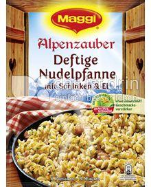 Produktabbildung: Maggi Alpenzauber Deftige Nudelpfanne 130 g