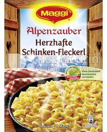 Produktabbildung: Maggi Alpenzauber Herzhafte Schinken-Fleckerl 173 g