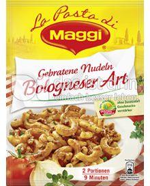Produktabbildung: Maggi La Pasta - Gebratene Nudeln Bologneser Art 155 g
