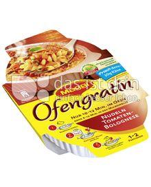 Produktabbildung: Maggi Ofengratin Nudeln Tomaten-Bolognese 106 g