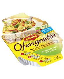 Produktabbildung: Maggi Ofengratin Nudeln mit Gemüse 115 g