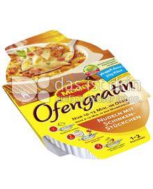 Produktabbildung: Maggi Ofengratin Nudeln mit Schinkenstückchen 116 g